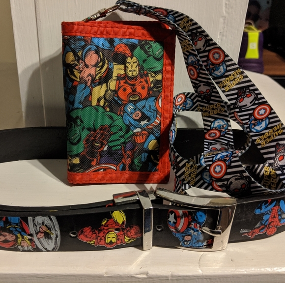Thor Wallet Age Of Ultron Avengers Themed Trifold Velcro Kids Men/'s Wallet